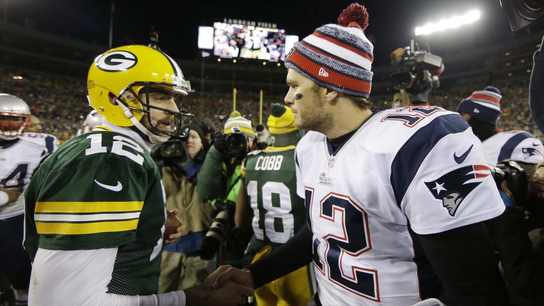 LAST LOOK AT PATRIOTS/PACKERS GAME….THIS YEAR ANYHOW